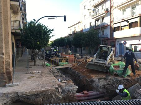 El PSOE de Andújar se enorgullece del arreglo integral de la Avenida Plaza de Toros