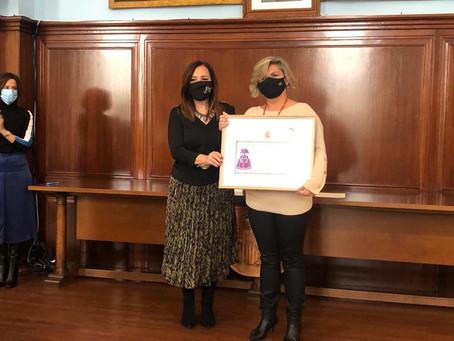 El PSOE de Andújar se une al reconocimiento de la IRIS en los premios MENINAS 2020