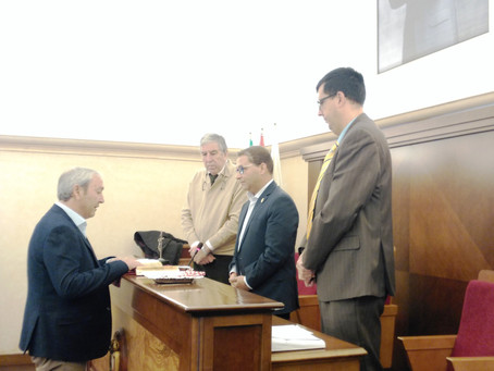 Juan Lucas García Cámara, nuevo Concejal Socialista en el Ayuntamiento de Andújar