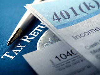 Tax Planning and Retirement