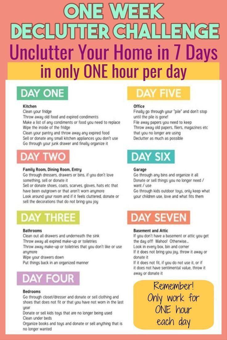 7 Day Declutter Challenge