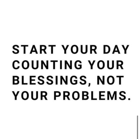 Count your blessings🙌🏽