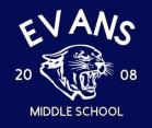 Evans STAFF ONLY  Evans Hoodie (blue)