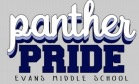 Evans STAFF ONLY  Panther Pride T-Shirt