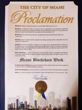 Proclamation Miami Blockchain Week.jpg