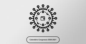 Alterações do Calendário de Congressos 2020-2021