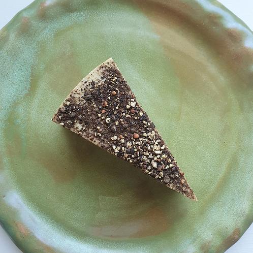 DIVA Cracked Black Peppercorn Aged Cheddar Wedge