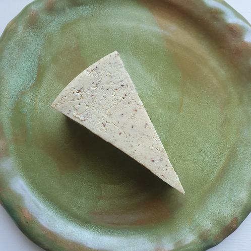 DIVA Wholegrain Mustard Aged Cheddar Wedge