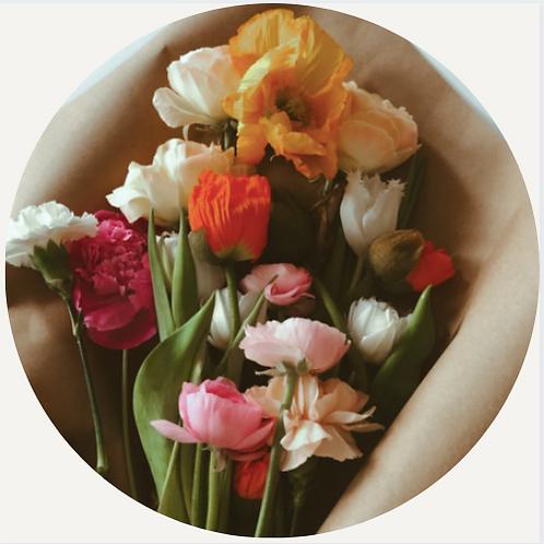 Wrapped Florist Bouquet (medium)