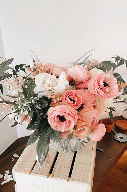 Florist Arrangement (Medium - Includes Vase)