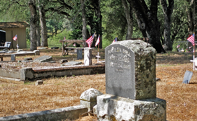 Grounds of the Kelsey Pioneer Cemetery