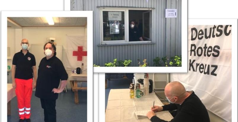 Neue Schnellteststation im Impfzentrum Gettorf