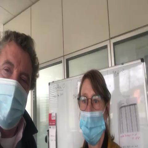 Lob für das DRK Team im Impfzentrum Büdelsdorf