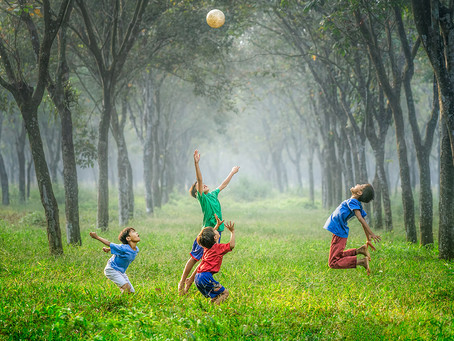 Why children need to play outdoors