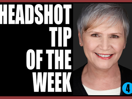 Headshot Tip of the Week 4-         MINIMAL MAKEUP