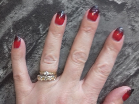 Ombre Nails at Revive Hair Design