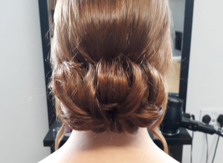 Classic updo @ Revive