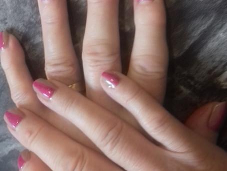 Funky nails at Revive