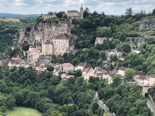 Cliff-side town of Rocamadour