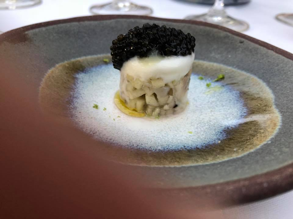 Caviar and oyster
