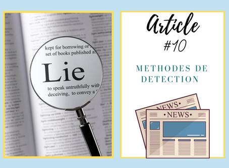 Méthodes de détection de mensonge en tout genre
