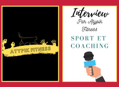 Interview pour Atypik Fitness, avec Lydie Antonucci