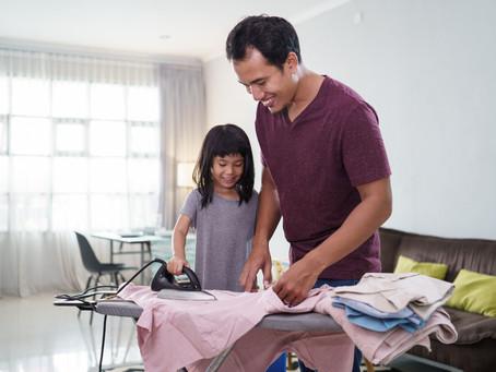 La importancias de delegar tareas domésticas