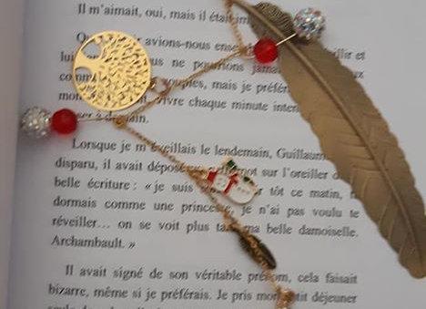 marque page bijoux arbre de vie