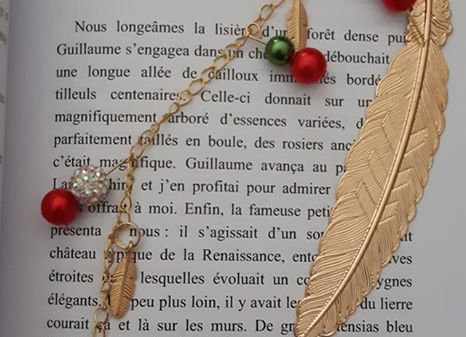 marque page sapin
