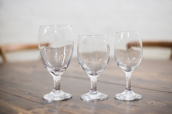 Wine/Water Goblet 16oz, 12oz and 8oz