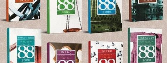 88 Soru Serisi-8 Kitap Takım
