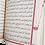 Thumbnail: 061 KIRMIZI - KURANI KERİM 2 RENK MÜHÜRLÜ - CAMİi KEBİR BOY