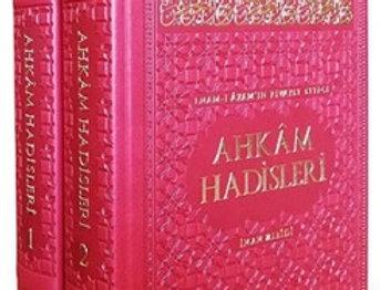 İmam-ı Azam Ebu Hanifenin Rivayet Ettiği Ahkam Hadisleri (2 Cilt Takım)