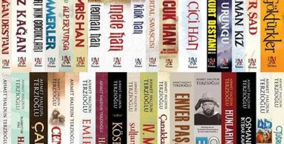 Ahmet Haldun Terzioğlu Tarih Seti-34 Kitap Takım