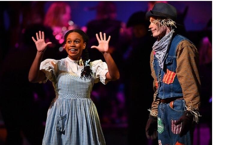 Dorothy in Wizard of Oz