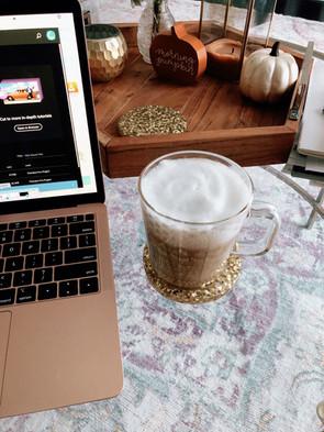 How I make my Lattes & Book recs!