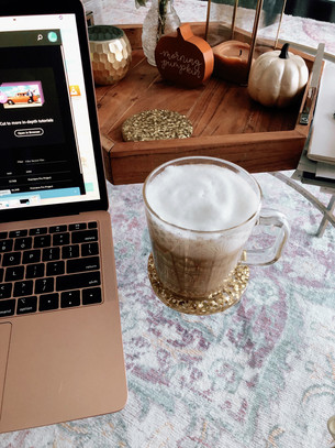 How I make my Lattes & Book recs!