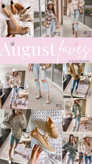 August Best Sellers✨
