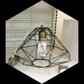 DIAMOND LIGHT FIXTURE