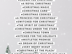 Hallmark Christmas Movies List