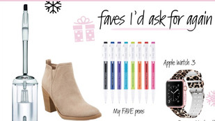 *GIFT GUIDE: Things I'd ask for again!