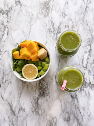 My Fave Green Smoothie Recipe