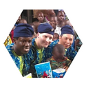 Joshua, Mayowa Joshua and Dan Dang in Nigeria