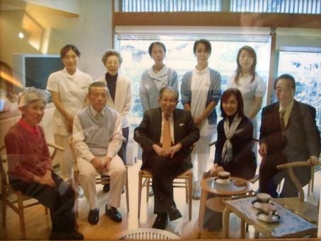 画像:日野原先生が当クリニックをご訪問