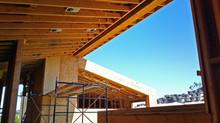 Construction on the Roxbury Residence