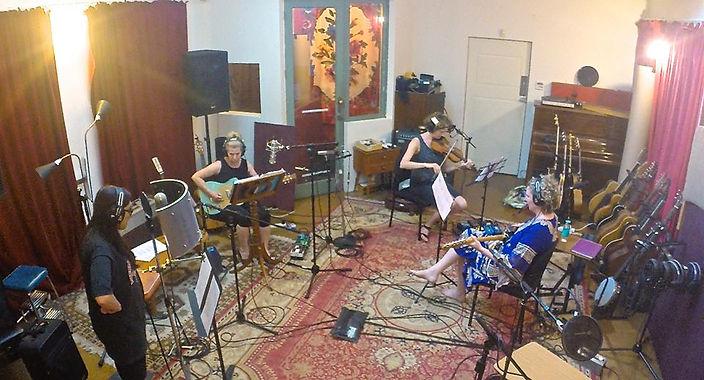 Recording at Audrey Studios