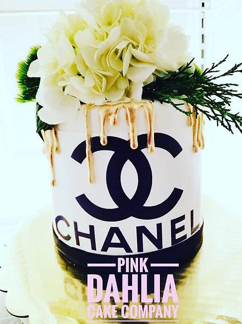 Chanel Drip Cake