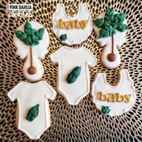 Vegan Baby Shower Cookies