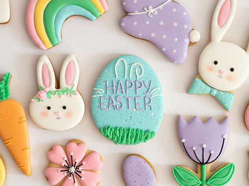 Easter Cookie Assortment Easter Bunny Easter Eggs