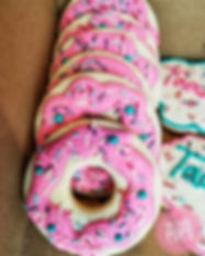 Adorable donut sugar cookies. Part of a
